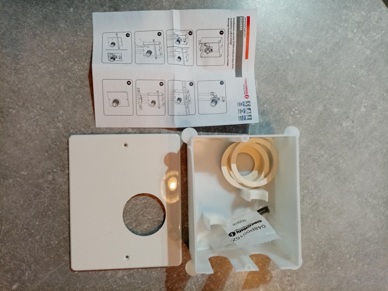 Inštalačná krabica R508M pre R414 - Obrázok č. 1