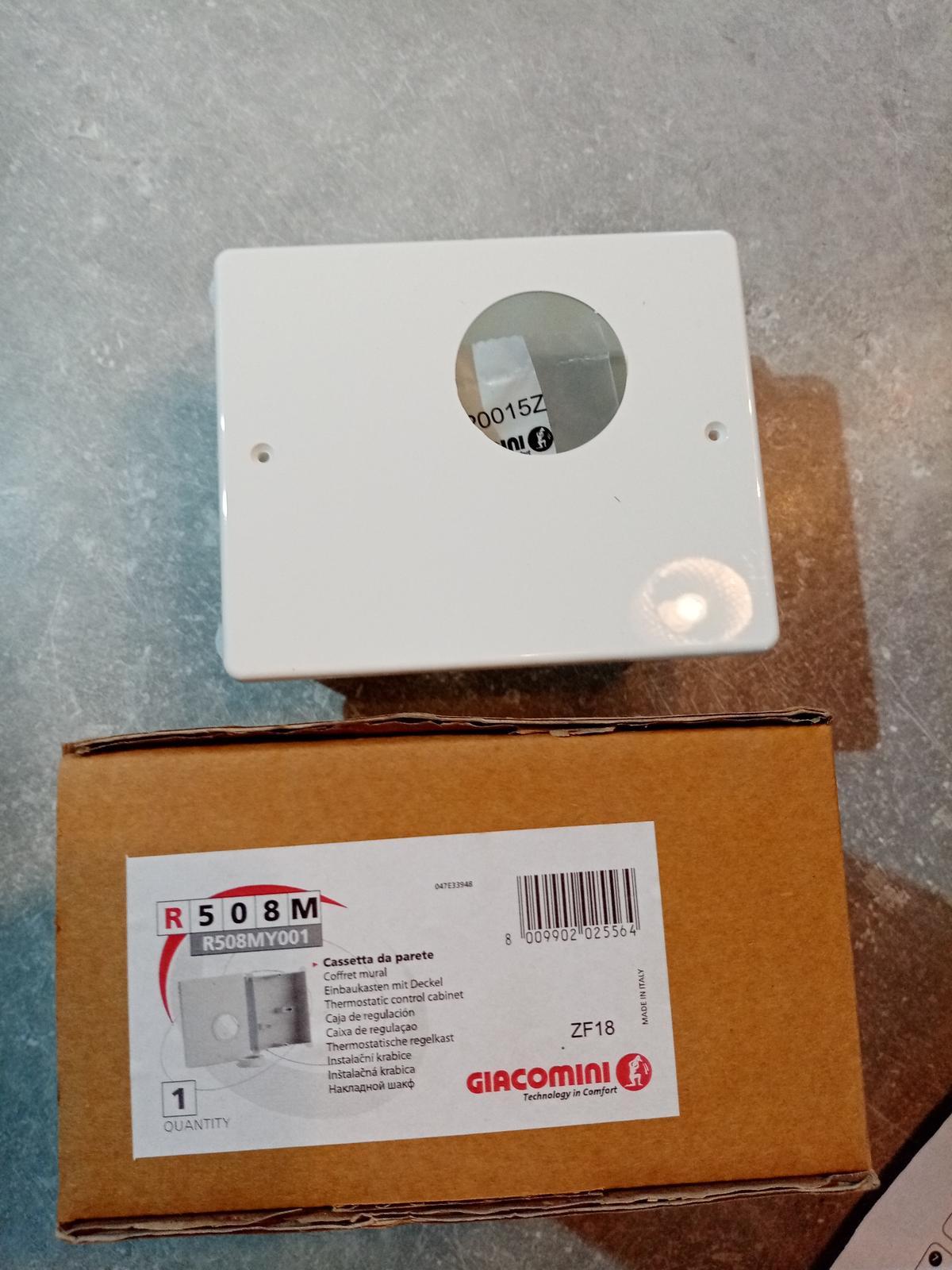 Inštalačná krabica R508M pre R414 - Obrázok č. 3
