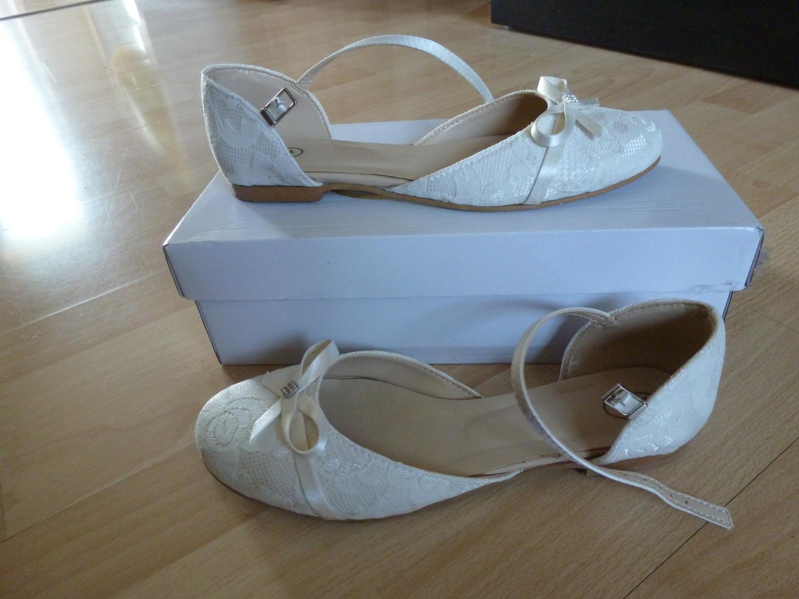 Svatební boty, vel. 38 - Obrázek č. 2