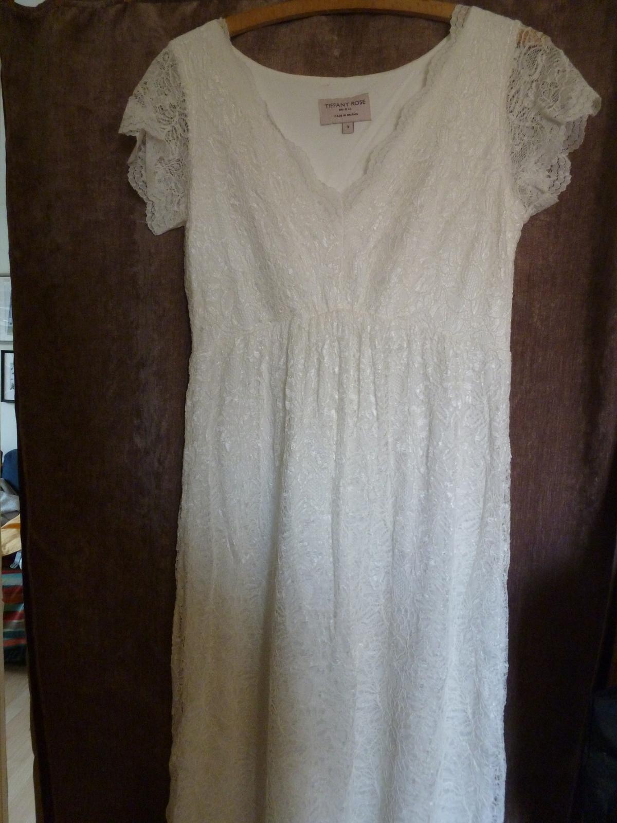 Svatební šaty, vel. 38 - 40 - Obrázek č. 2