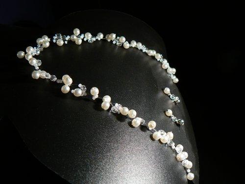 Príprava:-) - náhrdelník-podobný som si kúpila v Bulharsku
