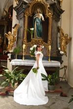 Pózující nevěsta