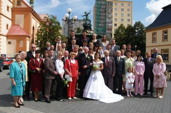 Naše celá svatební parta
