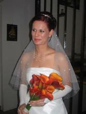 Před příjezdem ženicha
