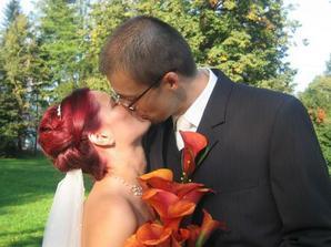 Konečně manželské políbení :-)