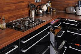 černá kuchyň 3