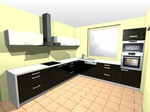 konečná verze kuchyně, objednáno :-)