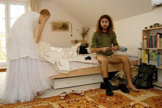i ženich se připravuje :)