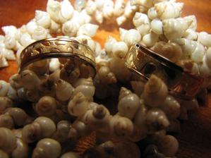 tak to jsou naše prstýnky,moc se nám líbí..