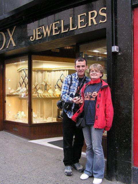 Nákupy - Zásnubný prstň z Dragody v Írsku