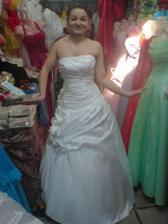 a toto sú moje svadobné šaty...tie pravé...