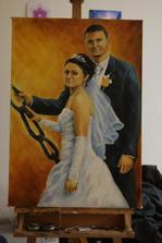 a náš svadobný dar od starejšieho....nádherný...