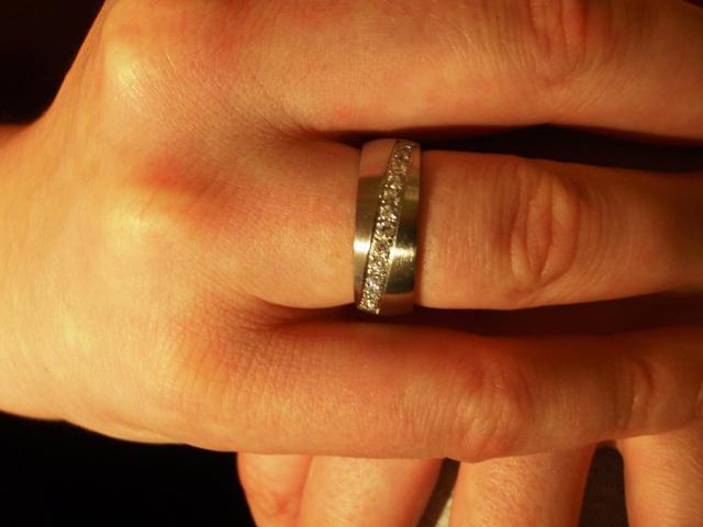 Silvia a Thomas - snubný prstienok