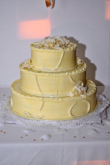 Silvia a Thomas - a toto je už naša objednaná tortička vynikajúca