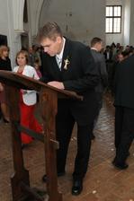 Svědek ženicha a p. matrikářka