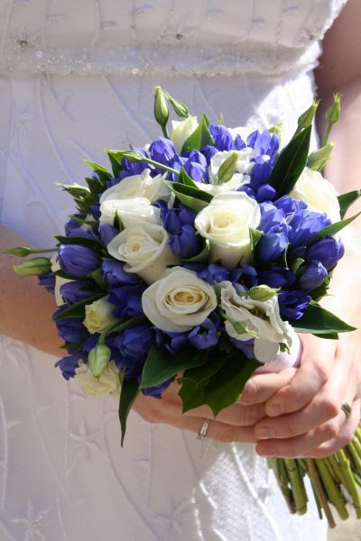 Naše modro-bílá svatba - takovou chci určitě mít