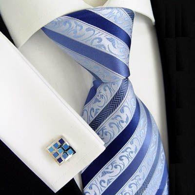 Naše modro-bílá svatba - Kravata pro miláčka