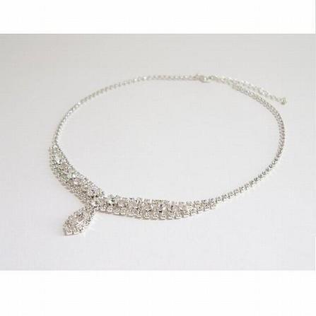 Naše modro-bílá svatba - náhrdelník