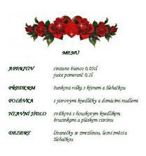 obedove svatebni menu