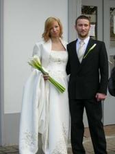 Novomanželé Ptáčkovi