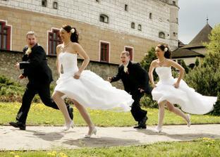 novomanželé na útěku :)