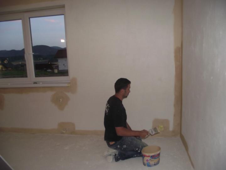 Svojpomocne.......interier..... - a malujeme obyvacku