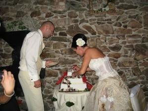 neštastná torta...