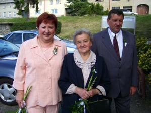 manželivi rodiče a teď už i moji a babička