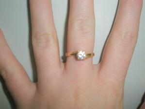 snubáčik som dostala na Valentína 2010