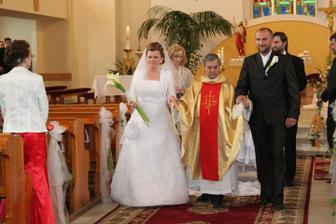 Novomanželia Tirkovi :-)