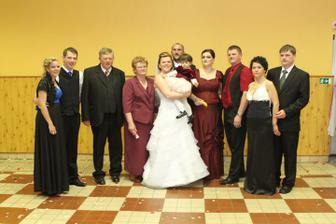 Moji rodičia, bratia s polovičkami a Sofinka