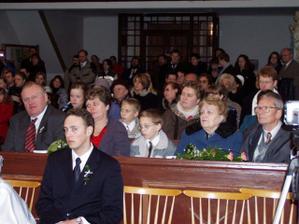Kostel byl plný :)
