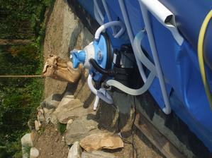 piesková kartuša na čistenie vody