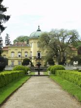 A nádherná záhrada u zámku