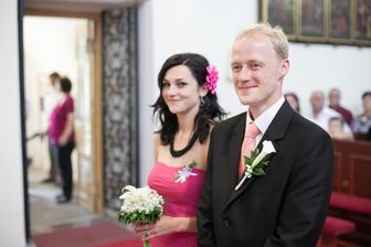 naši svědkové (moje sestra a manželův bratr)