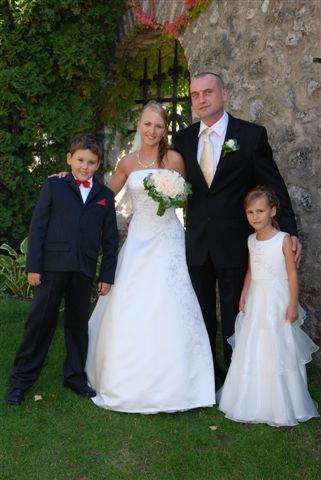 Marta{{_AND_}}Ľubomír - s neterkou Danicou a synovcom Adamom