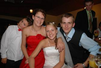 sestrin syn Adamko, sestra Janka, ja a brat Mirko :)
