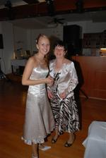 popolnoci s maminou... :)