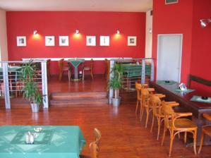 interier restaurace Na krásné vyhlídce