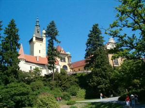 Průhonický zámek III.