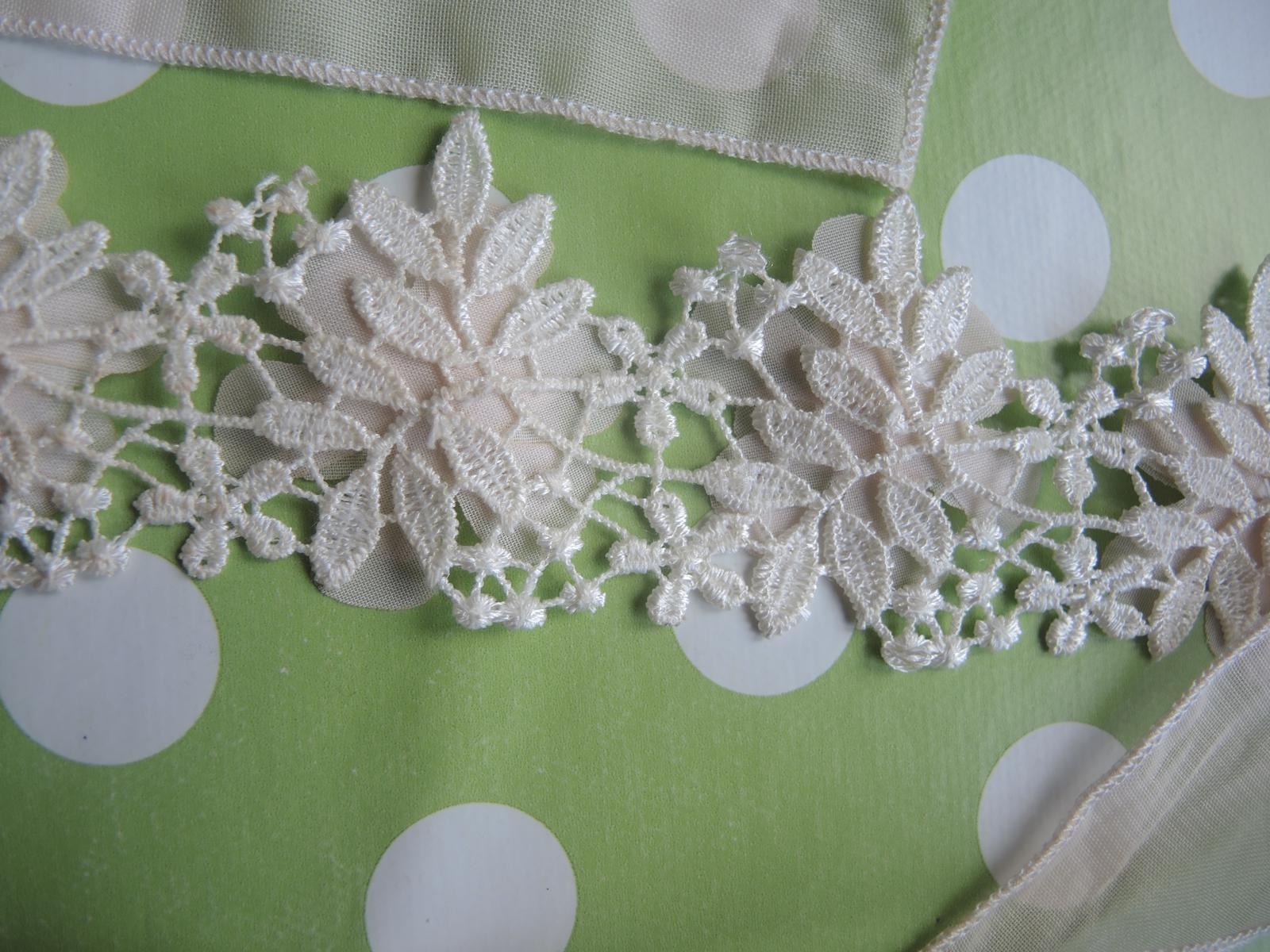 kvetinová čelenka na viazanie - Obrázok č. 3
