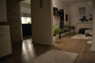 Zmena kobercov, pôvodne v chodbe zelený a v obývacej červený....