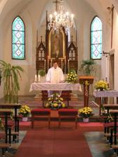 ...kostel v Kožlí v plné kráse...