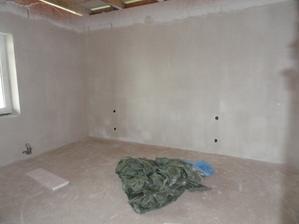 budoucí ložnice - doufám, že ty vypínče vyjdou:-)))