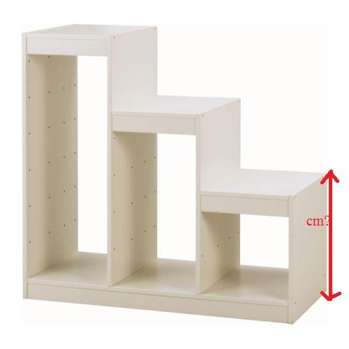 TECHNICKÁ...holky kdo máte doma Ikea Trofast...kolik měří na výšku na nejkratší strana(viz.obr.) - Obrázek č. 1