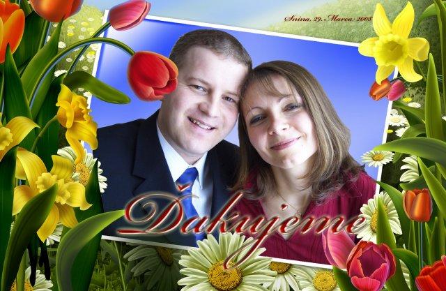 Daniela{{_AND_}}Dusan - podakovanie hostom pred odchodom