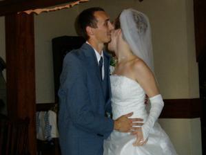 novomanželský tanec...