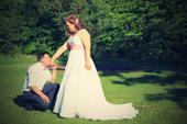 Svatební šaty ušité na míru, 42
