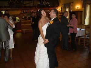 Novomanželský taneček