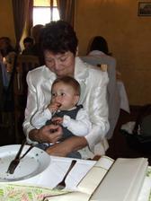 Víťulka s adoptovanou babičkou ;-)